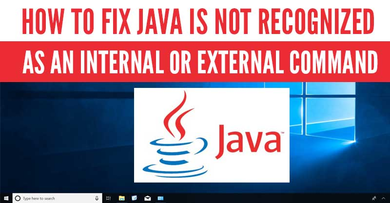 Javac is not recognized as an internal or external command