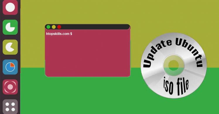 How to update Ubuntu iso file
