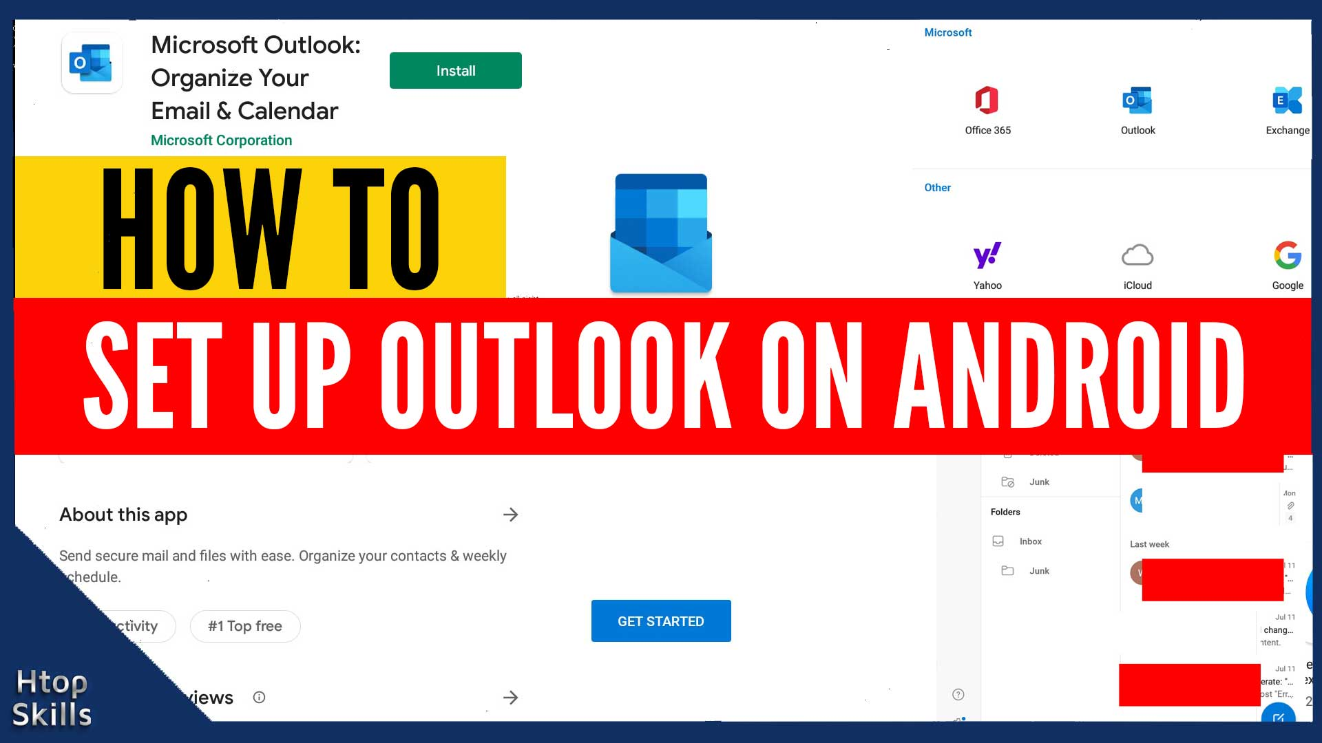 How To Set Up Outlook On Android