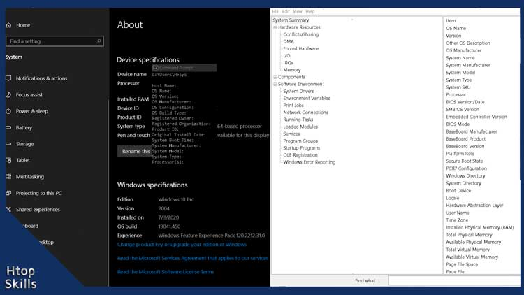 How To Check System Specifications On Windows 10