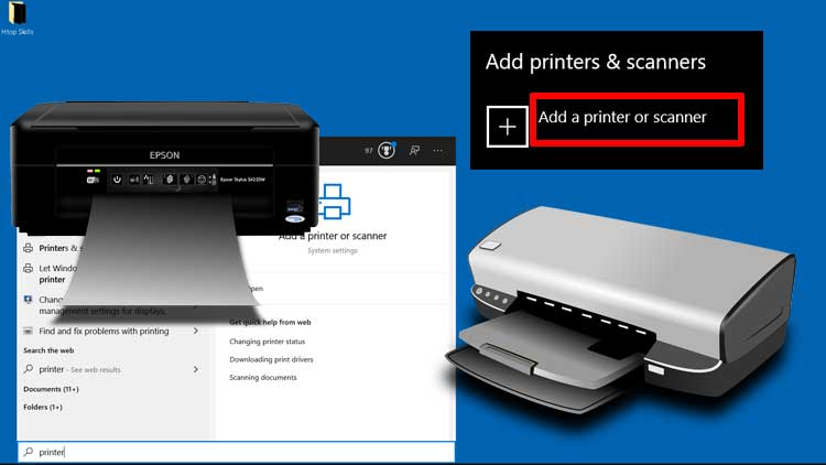 How To Setup Printer On Windows 10