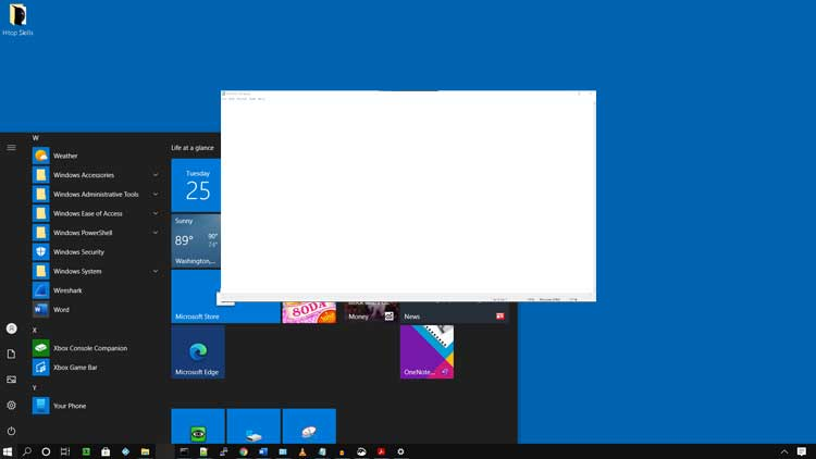 How to open a program on Windows 10