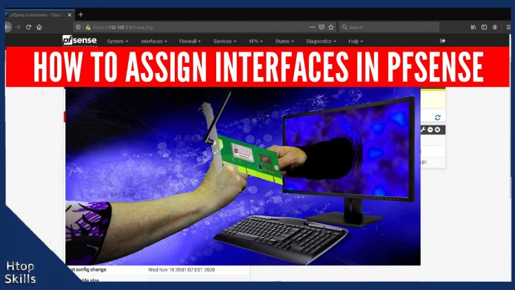 How to assign interfaces in pfsense firewall